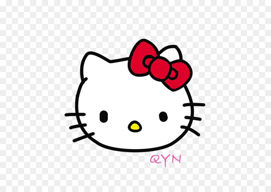 Personaje de Hello Kitty Cat Sanrio Clip art - hola lunes Formatos ...