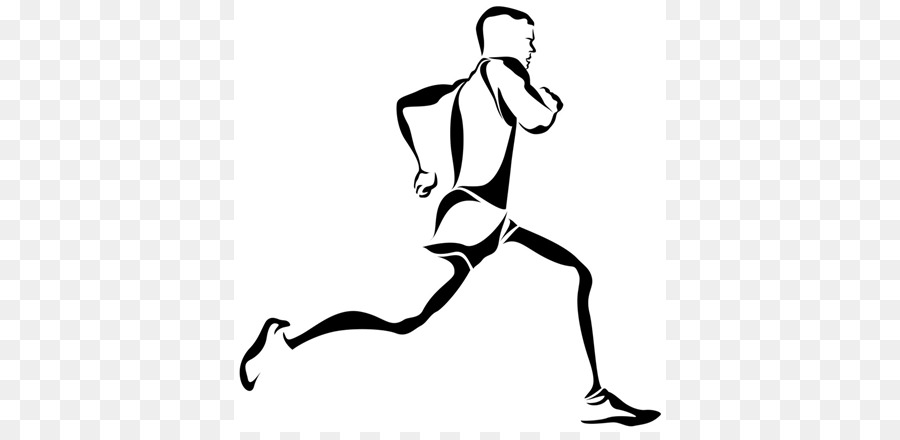 Drawing Running Clip Art Vector Graphics Glader