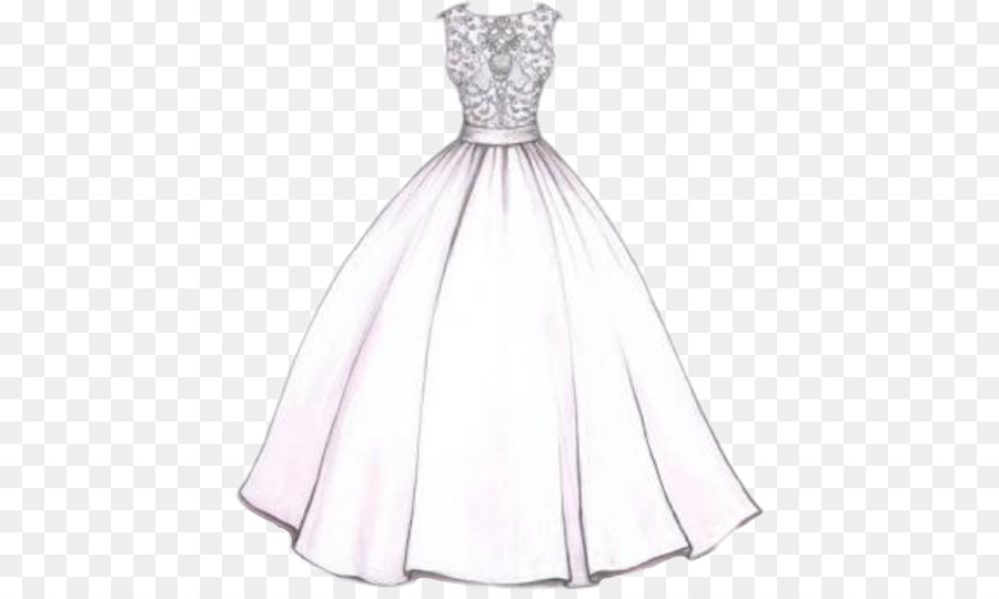Design A Wedding Dress.Wedding Dress Drawing Png Download 480 533 Free