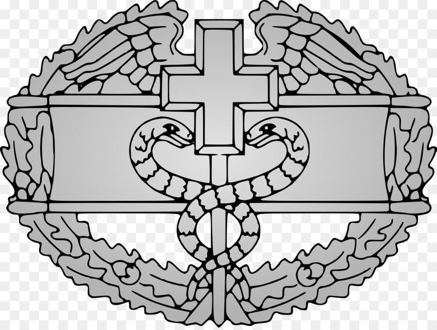 United States Combat Medical Badge Expert Field Medical Badge 68w