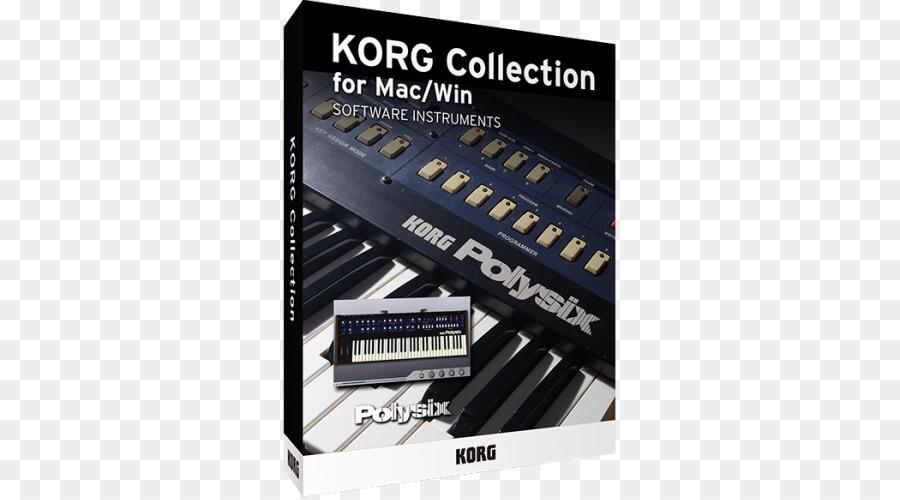 Korg Polysix Korg Mono/Poly Korg MS-20 Korg M1 - long awaited png
