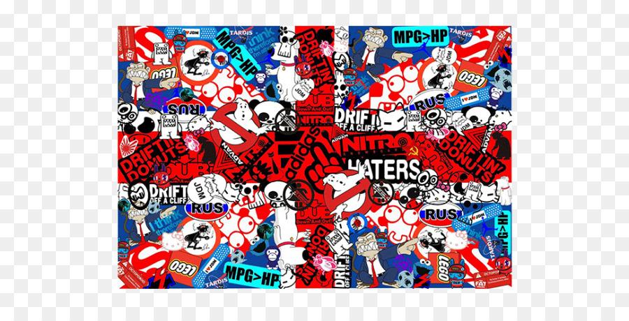 Sticker Bomb Desktop Wallpaper Japanese Domestic Market