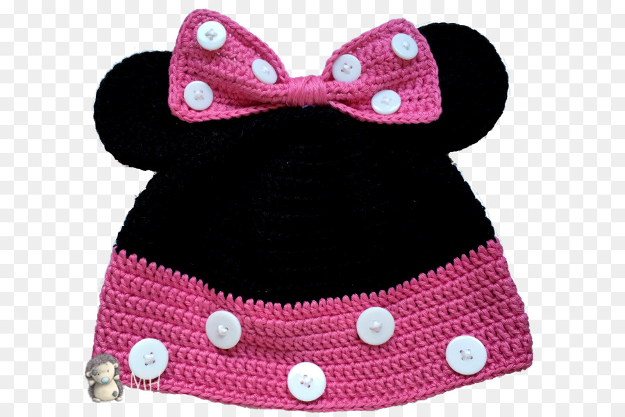 Minnie Mouse Mickey Mouse Tejer gorro Crochet Gorro - Minnie Mouse ...