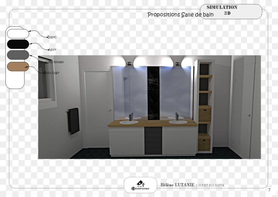 Bathroom Furniture Interior Design Services Kitchen - 3D Elegant png ...
