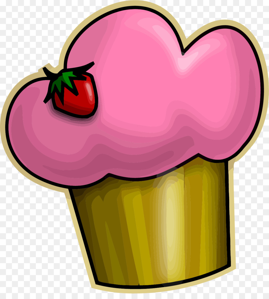 Cupcake Frosting Glasur Roter Samt Kuchen Clip Art Openclipart