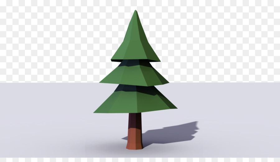 fir christmas tree pine low poly tree - Polytree Christmas Tree