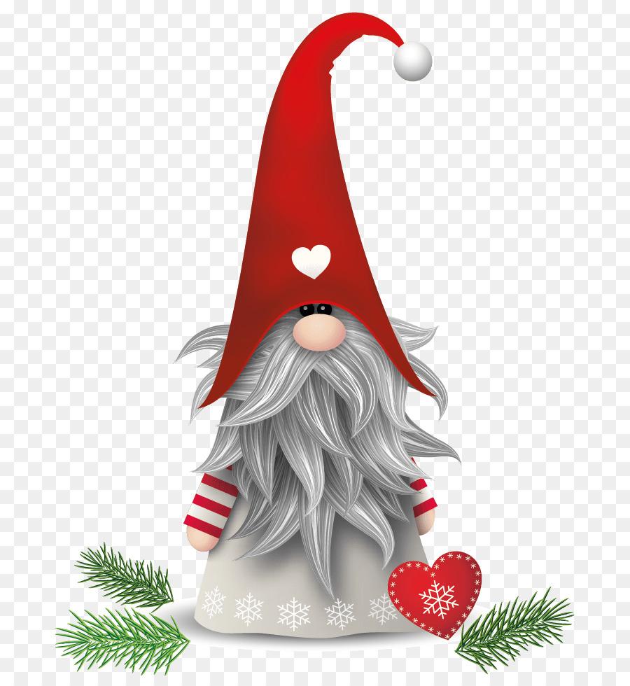 Santa Claus Nisse Scandinavia Christmas elf - santa claus png ...
