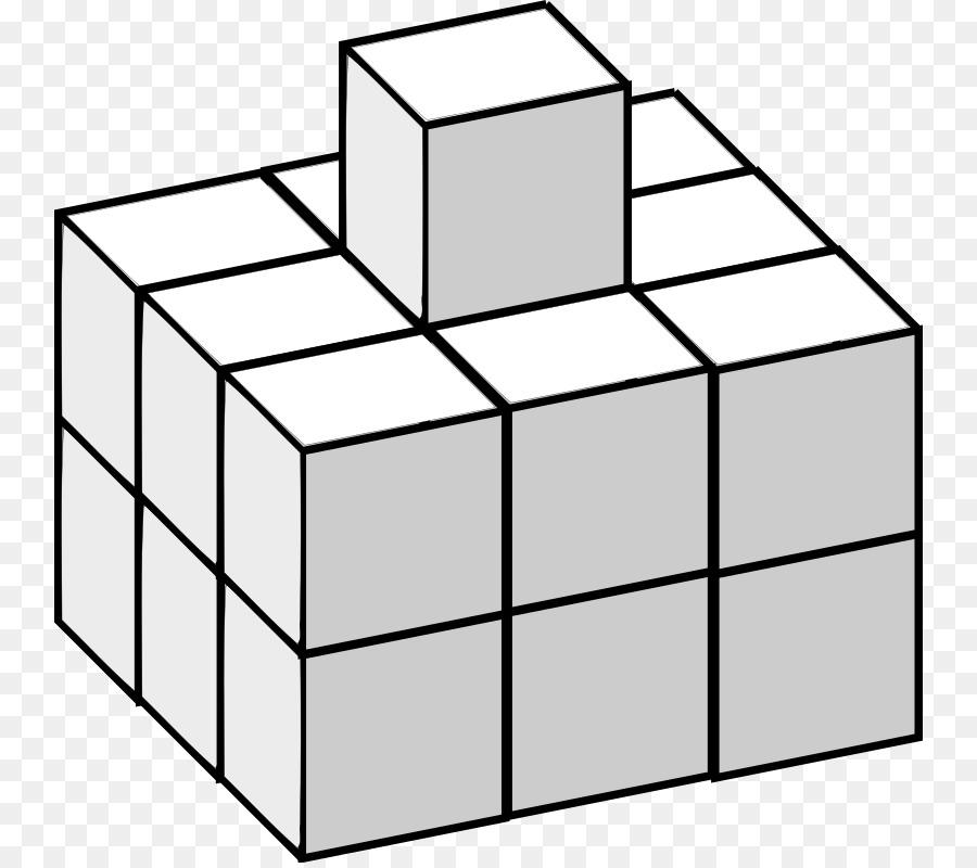 El Cubo de Rubik de Rompecabezas para Colorear libro - Cubo png ...