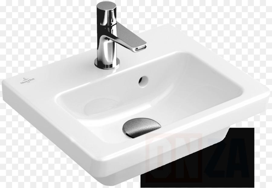 Ceramic Sink Villeroy & Boch Plumbing Fixtures Bathroom - sink png ...