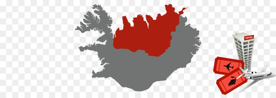 Iceland World map Vector graphics Dot distribution map ...