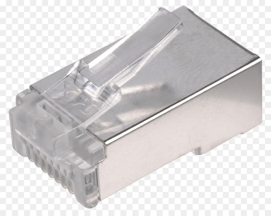Komponen Elektronik 8p8c Konektor Listrik Desain Produk Perangkat