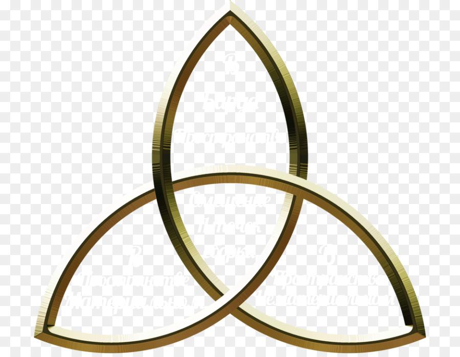 Triquetra Celtic Knot Wicca Symbol Triskelion Symbol Png Download