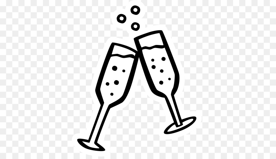 New Year\'s Day Drawing New Year\'s Eve Clip art - party cheers! png ...