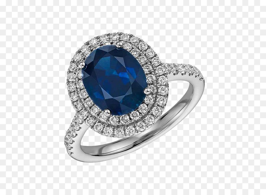 Verlobungsring Saphir Hochzeit Ring Schmuck Ring Png Herunterladen