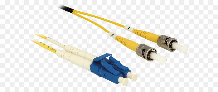 Netzwerk-Kabel Elektrischer Anschluss Optische-Faser-Optik-Kabel ...