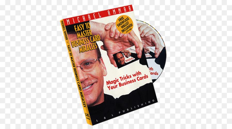 Michael Ammar Cartes DAffaires De La Magie Carte Visite DVD