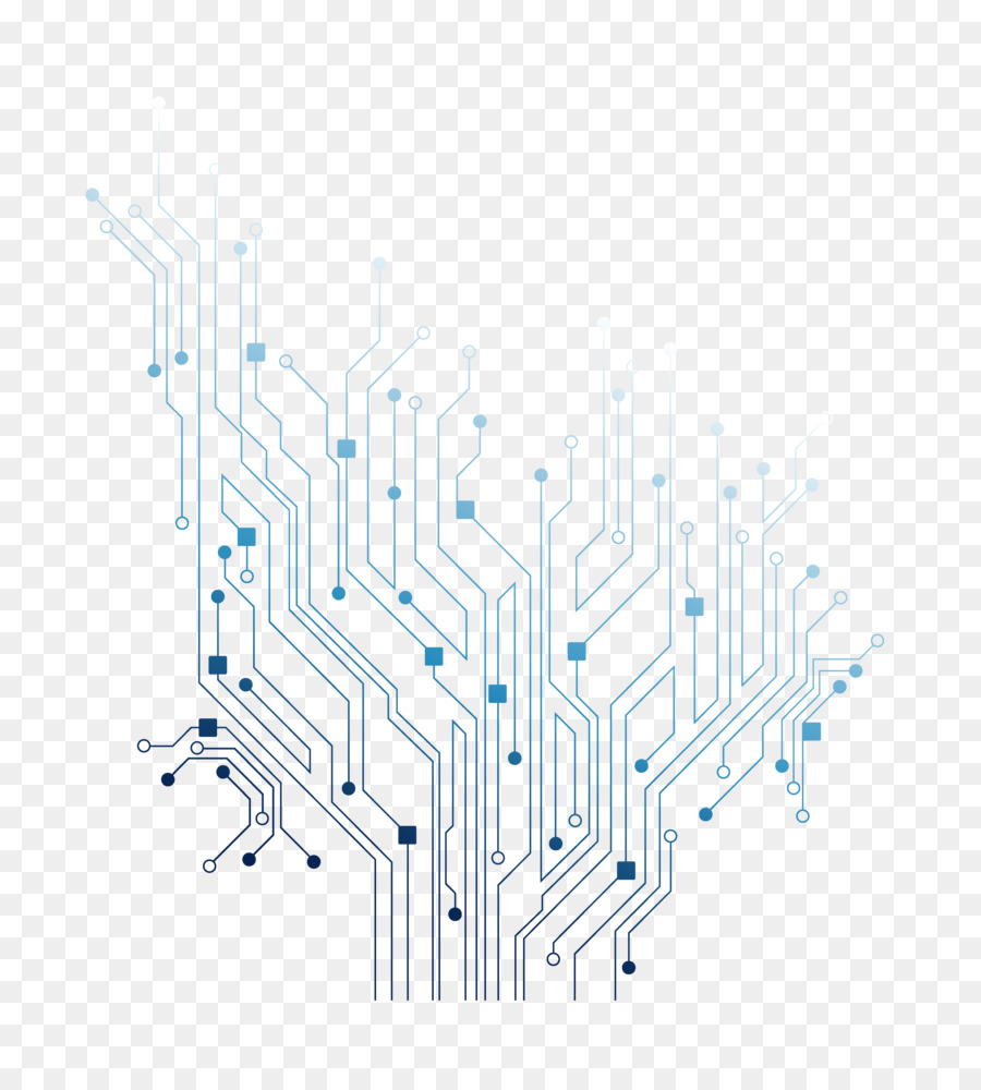 Electrical Network Portable Graphics Electronic Circuit Printed Board Electronics Vector Background Engineering Transparent