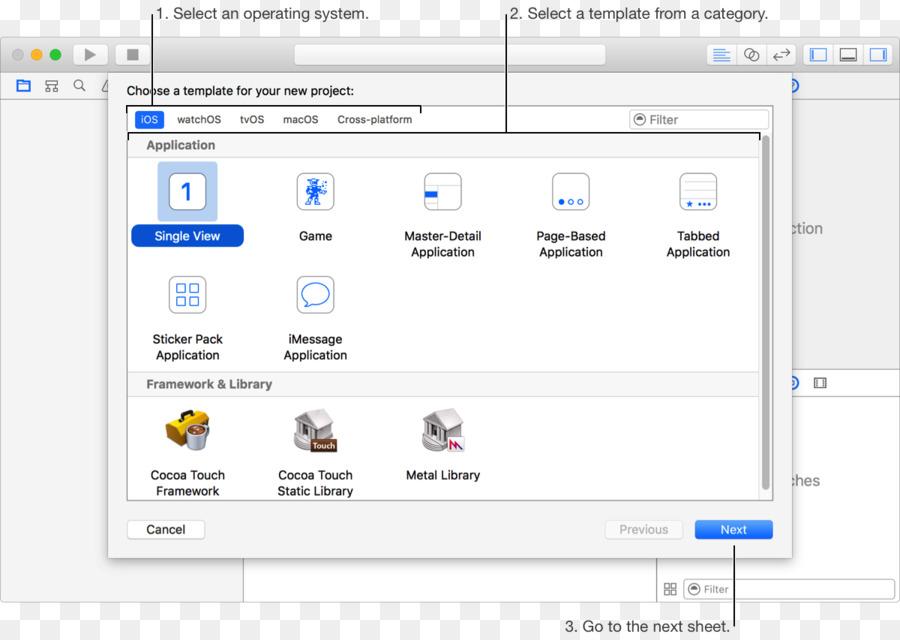 Swift de la Aplicación de iOS software de Objective-C, Xcode - marco ...