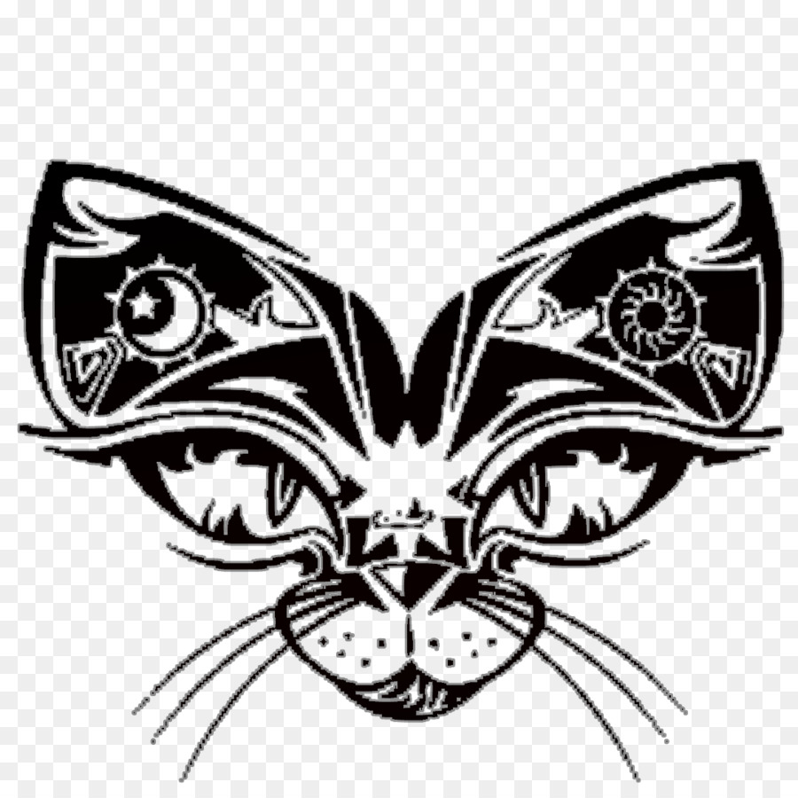 Cat Lower Back Tattoo Design Tiger Cat Png Download 10801080