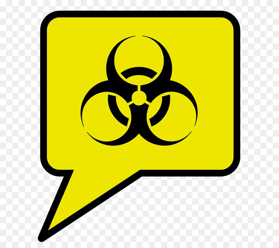 Biological Hazard Symbol Sign Decal Dangerous Goods Symbol Png