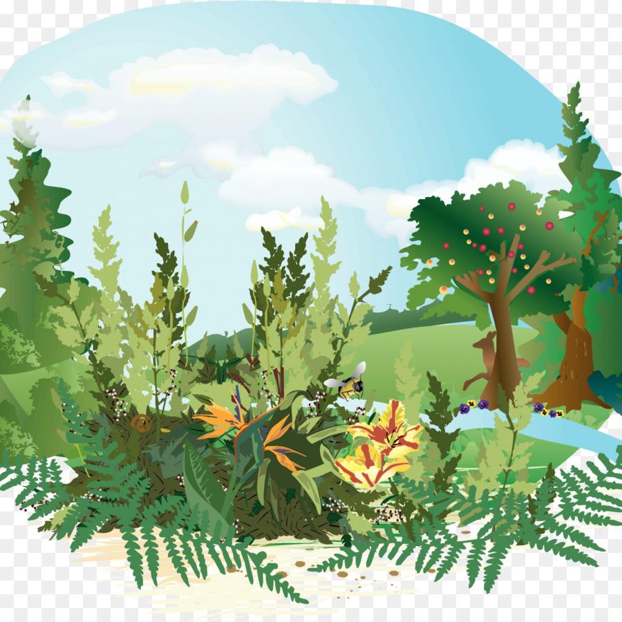 Jardín del Edén de la Biblia Génesis Clip art - adán y eva en el ...