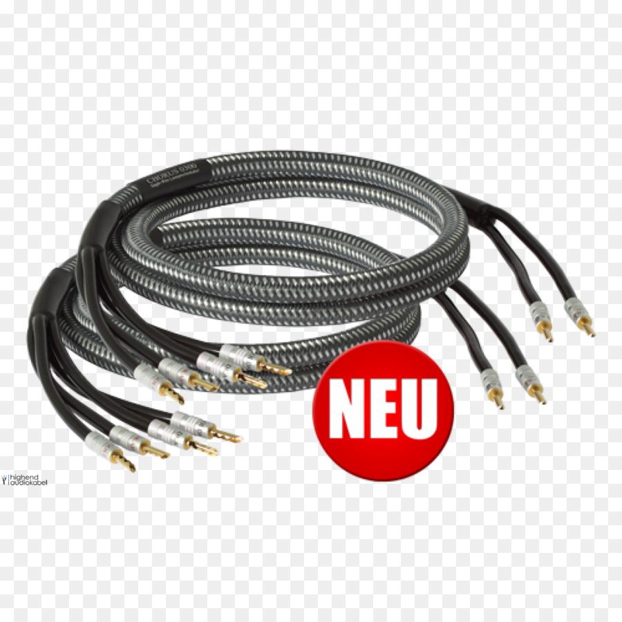 Coaxial cable Speaker wire Bi-wiring Goldkabel Chorus Bi-Wire ...