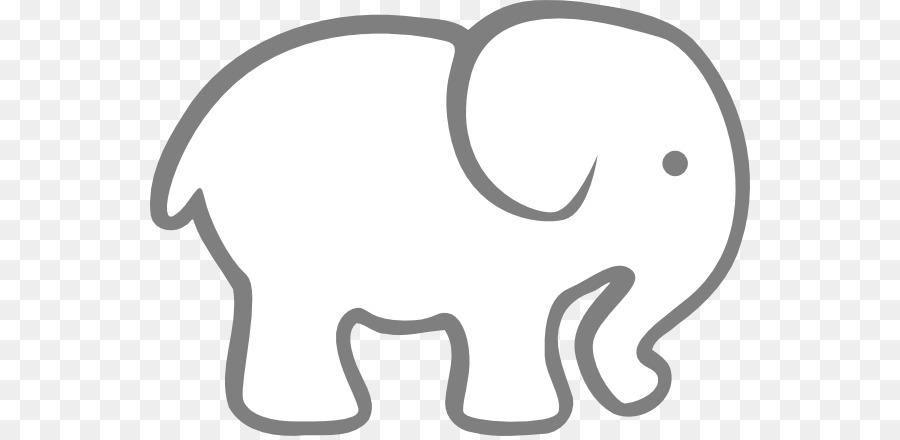 Los elefantes libro para Colorear Dibujo de la Imagen de dibujos ...