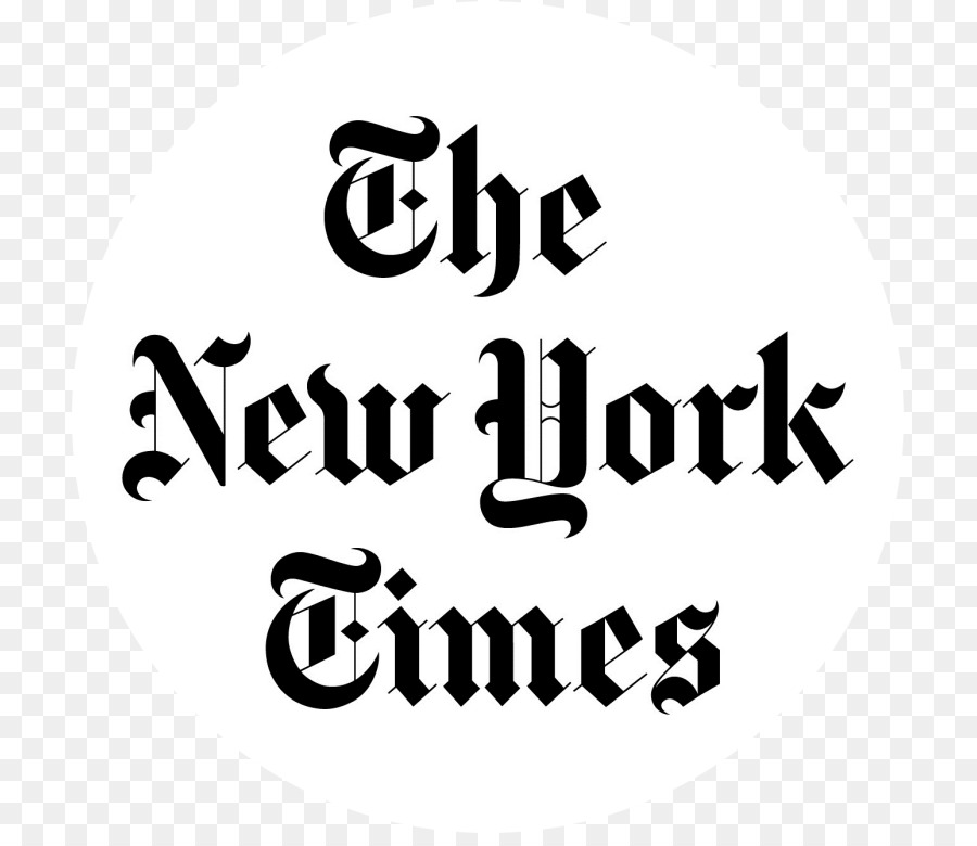New York City The New York Times Newspaper Logo Symbol Times