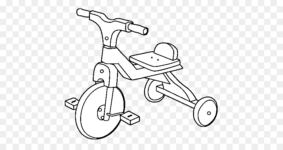 Bicycle Frames Tricycle Drawing Coloring Book Segway Pt Fidget