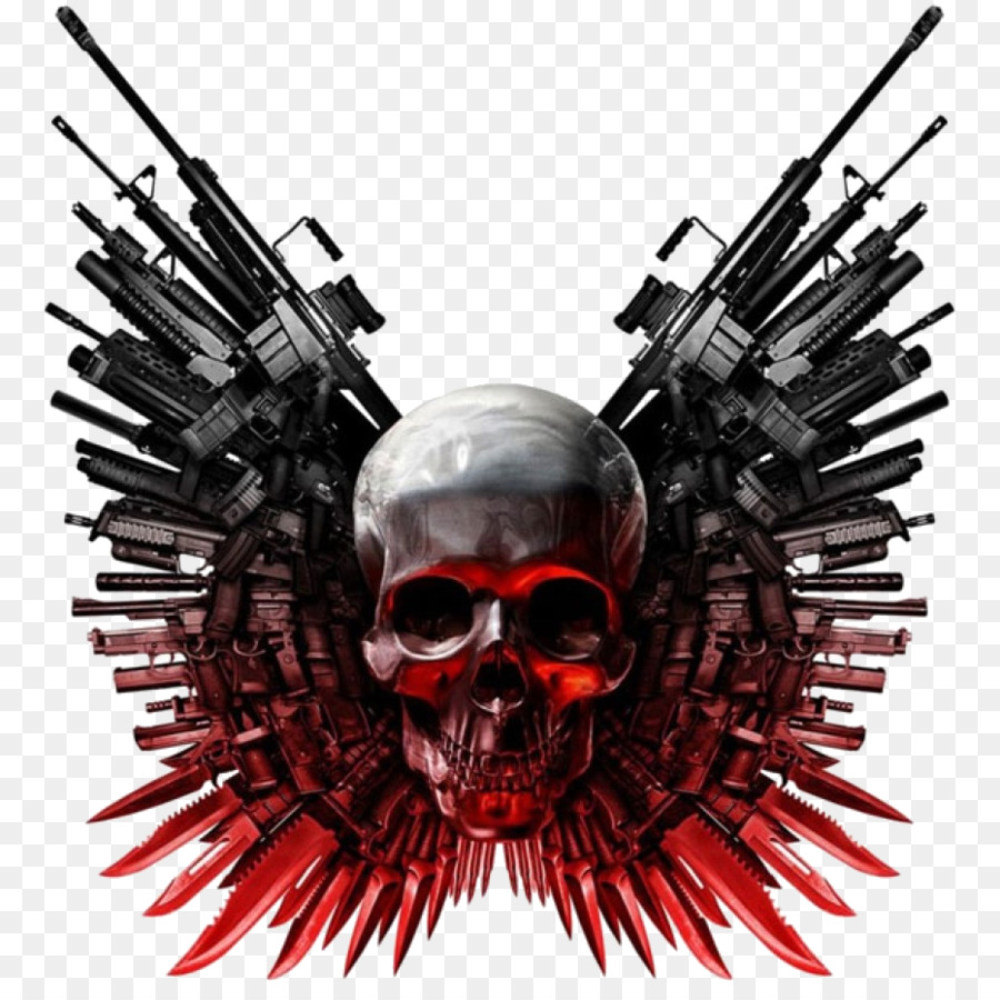 The Expendables Action Film Logo Image Punisher Symbol Png