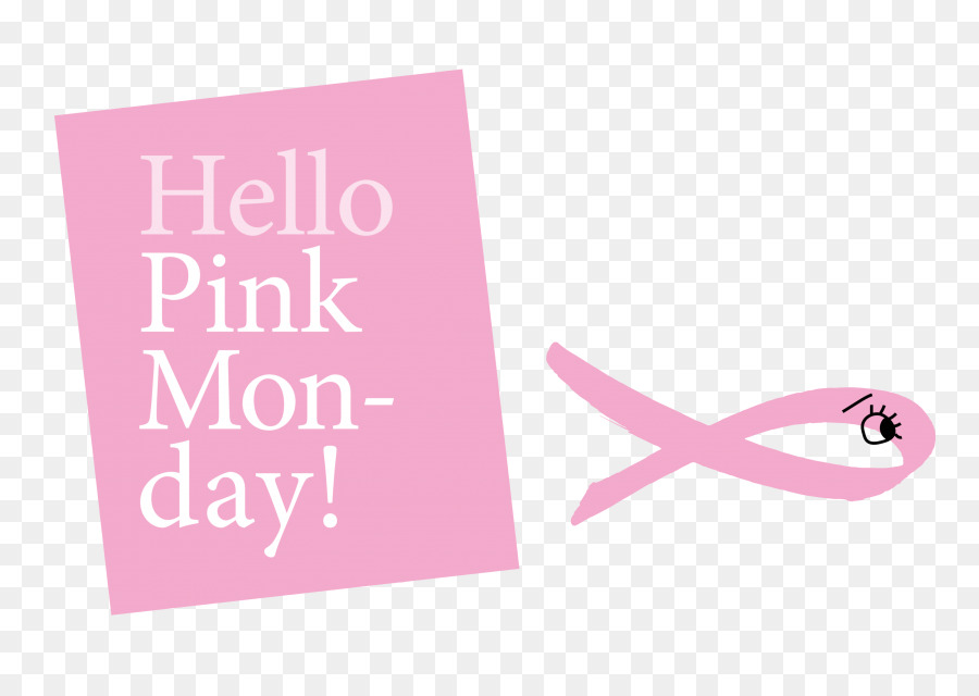 Brand greeting note cards logo pink ribbon hello monday png brand greeting note cards logo pink ribbon hello monday m4hsunfo