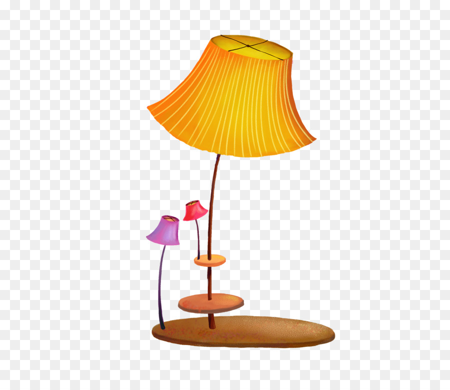 Drawing Board Image Electric Light Cartoon Room Lamp Png Download