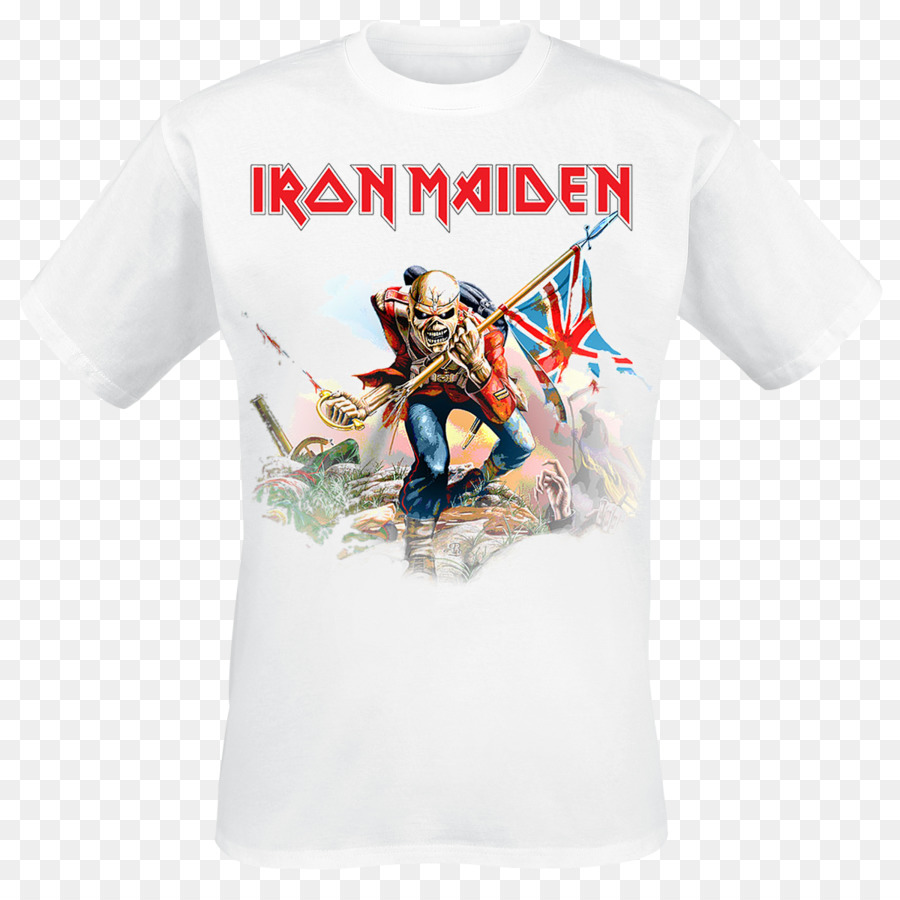 Long-sleeved T-shirt Iron Maiden The Trooper (Live Long Beach Arena ...