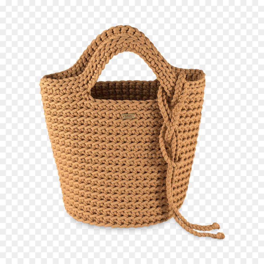 Bolso de mano de Ganchillo Bolsas T-shirt yarn Mochila de Moda ...