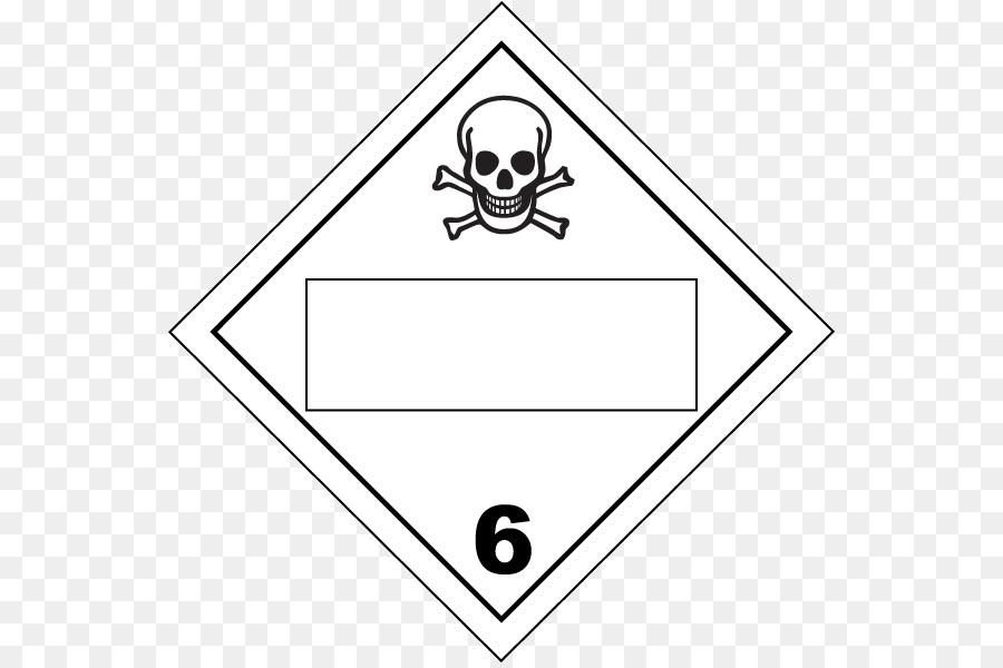 Toxicity Dangerous Goods Hazmat Class 6 Toxic And Infectious