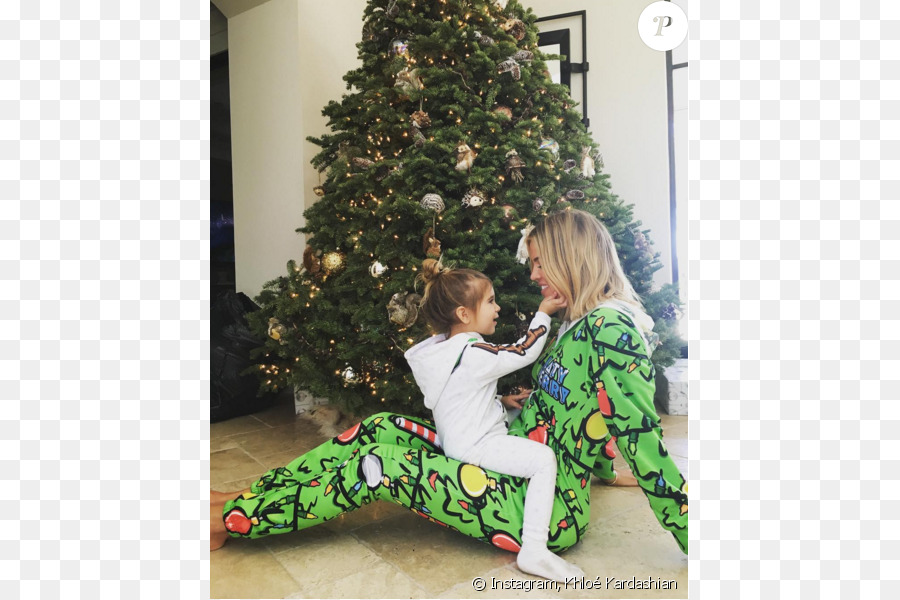 Kardashian Family Celebrity Pajamas Reality television Christmas Day ...