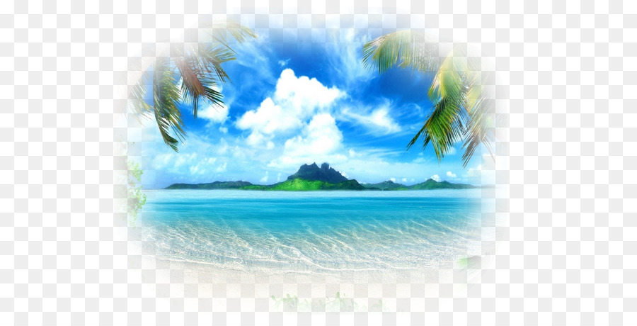 desktop wallpaper mural painting beach natural scenery png