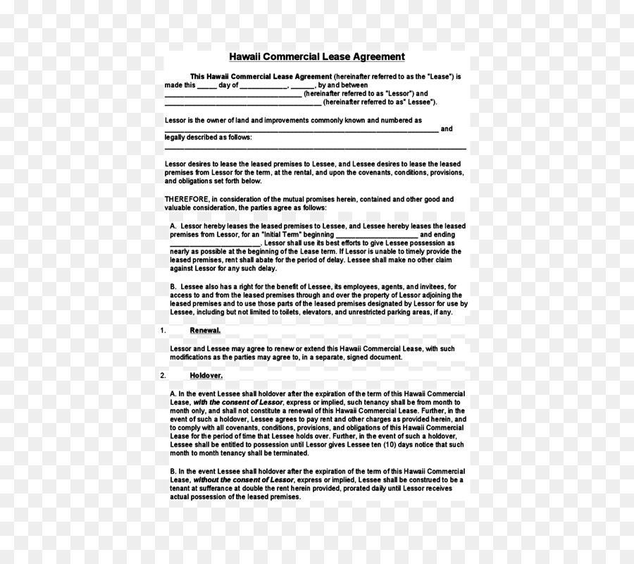 Document Lease Contract Real property Template - Modern Cv png ...