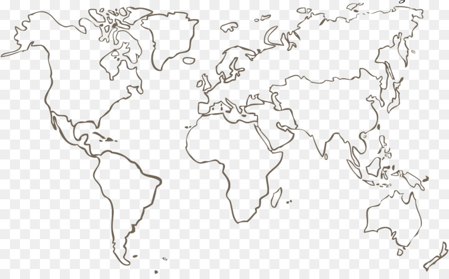 World Map Coloring Book Geography Carte Du Monde Map Png Download