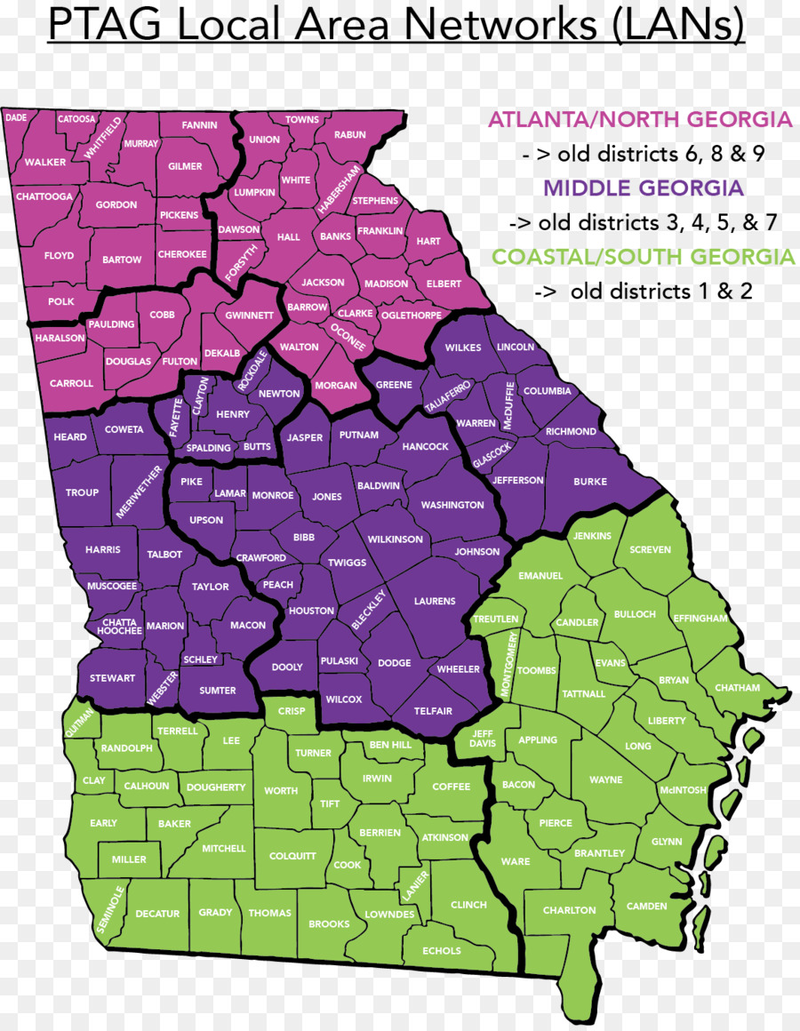 Middle District Of Georgia Map.Ohio Georgia S Congressional Districts Georgia S 1st Congressional