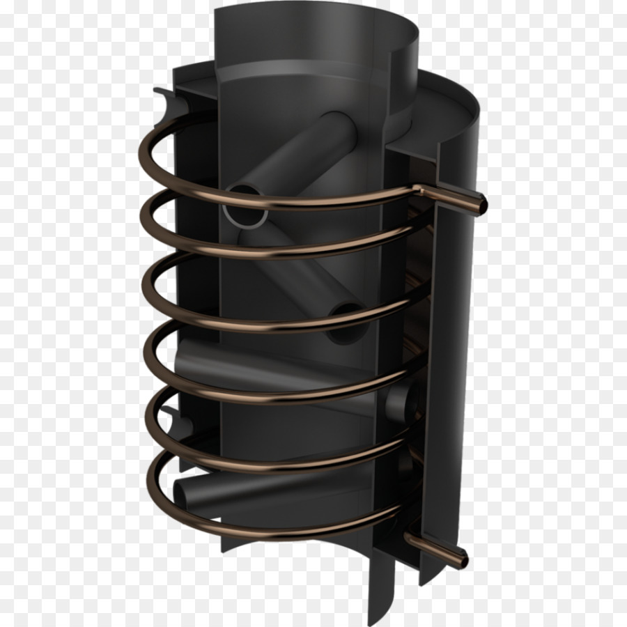 Fireplace Heat Exchanger Recuperator Central Heating Stove Png