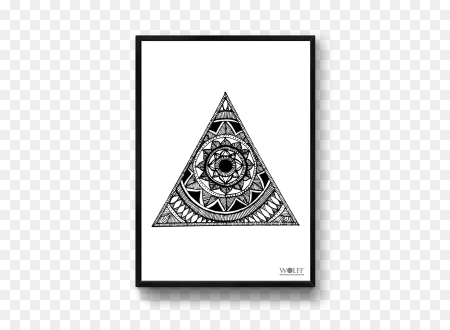09db29939aed6 WOLFF DESIGNS Mandala Designs Triangle - triangle poster png ...