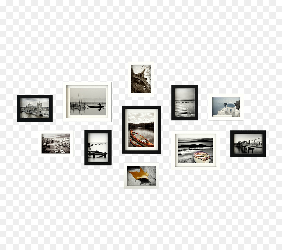 Picture Frames Photography Black and white Image - Picture Frame ...
