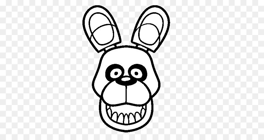 Cinco Noches en Freddy\'s 2 Bonnie para Colorear Dibujo de Cinco ...