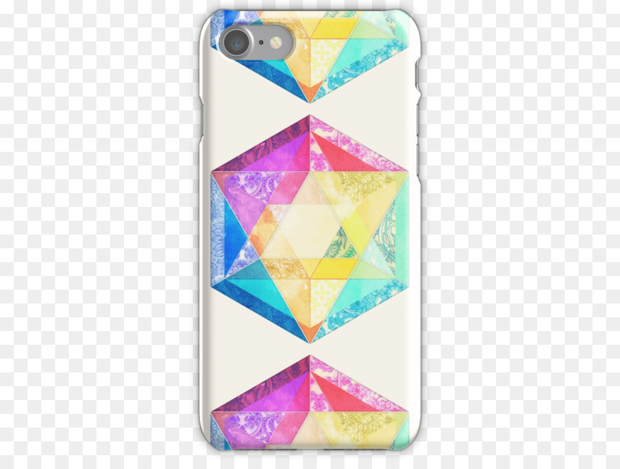 Samsung Galaxy S8 Triangle Douchegordijn Hexagon - triangle png