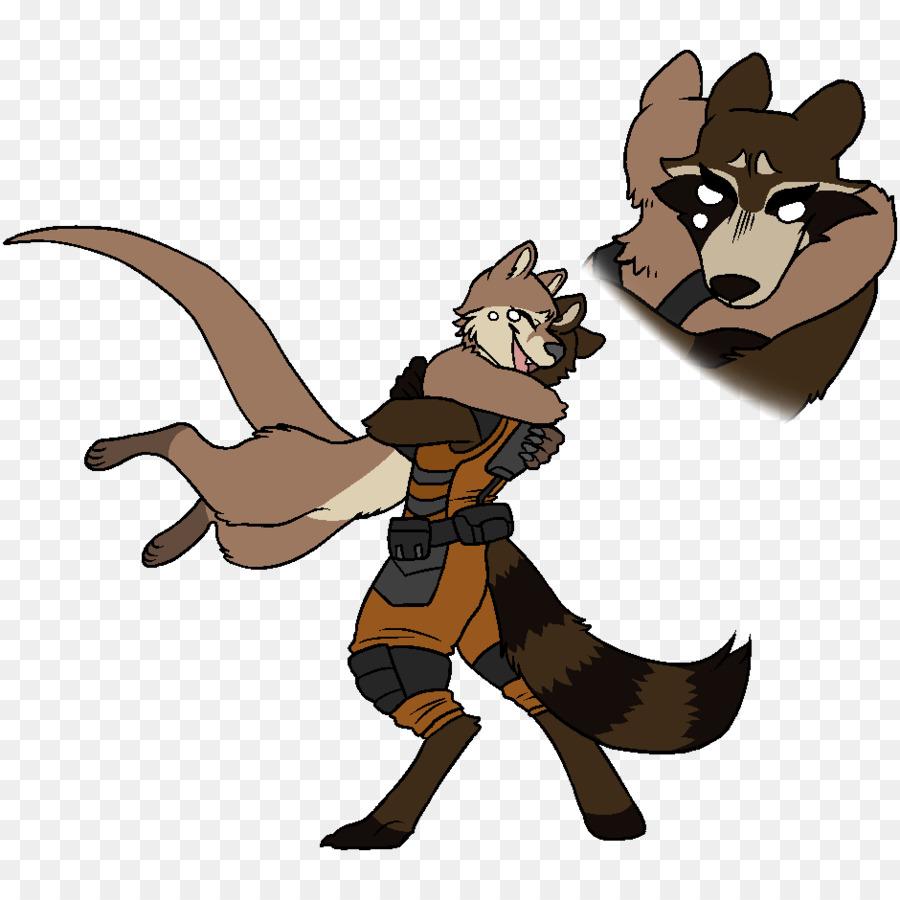 Rocket raccoon lontra guardiani della galassia della marvel comics