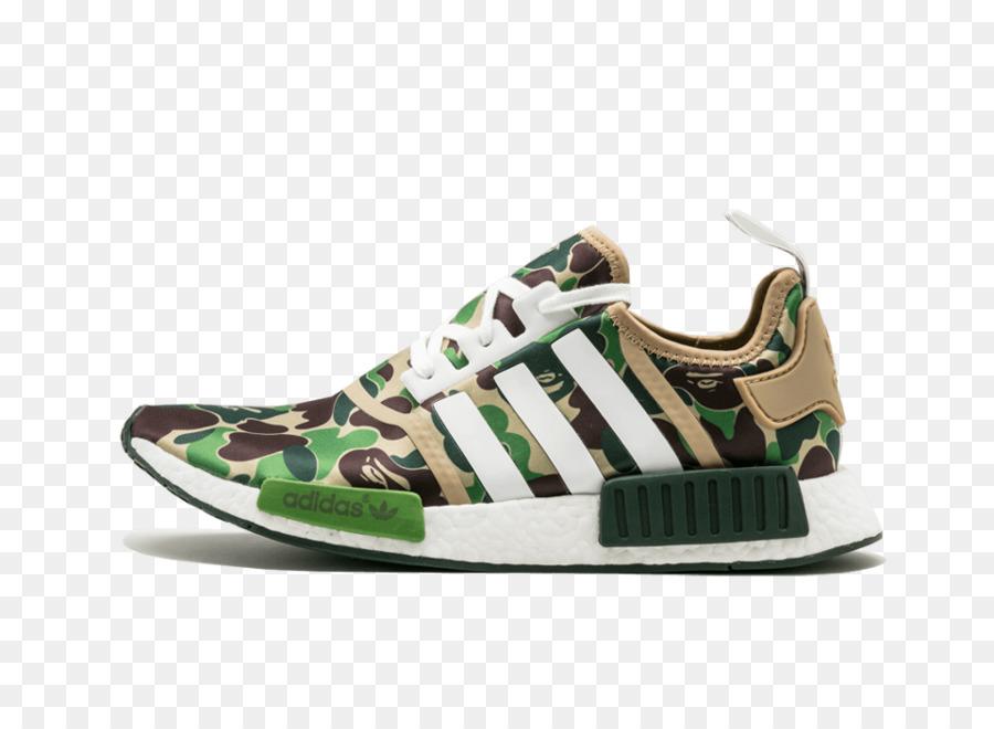 1cb4b4d5caca6 Bape x NMD R1 Adidas NMD R1 Primeknit  Footwear Sneakers Adidas Nmd R1 Bape  Bathing Ape Green Camo Camouflage Ba7326 Us Size 5 - adidas png download ...