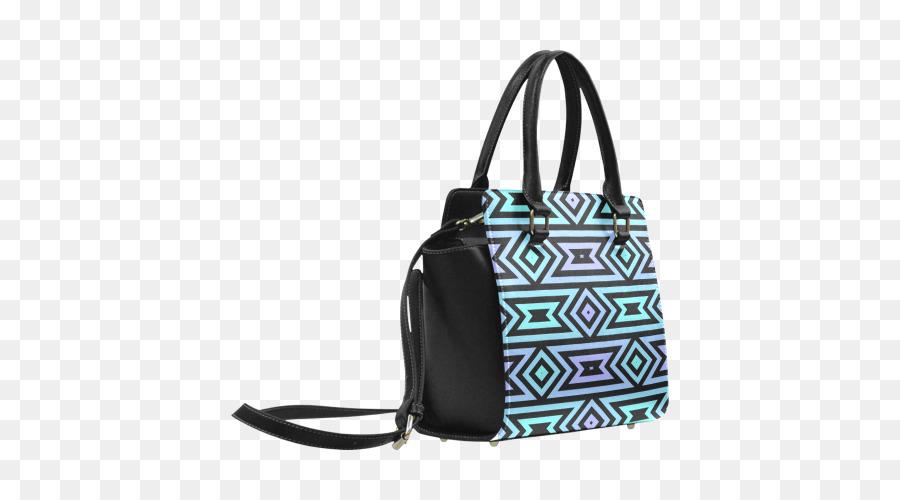 La bolsa de asas del Bolso de cuero Artificial - azteca patrón png ...