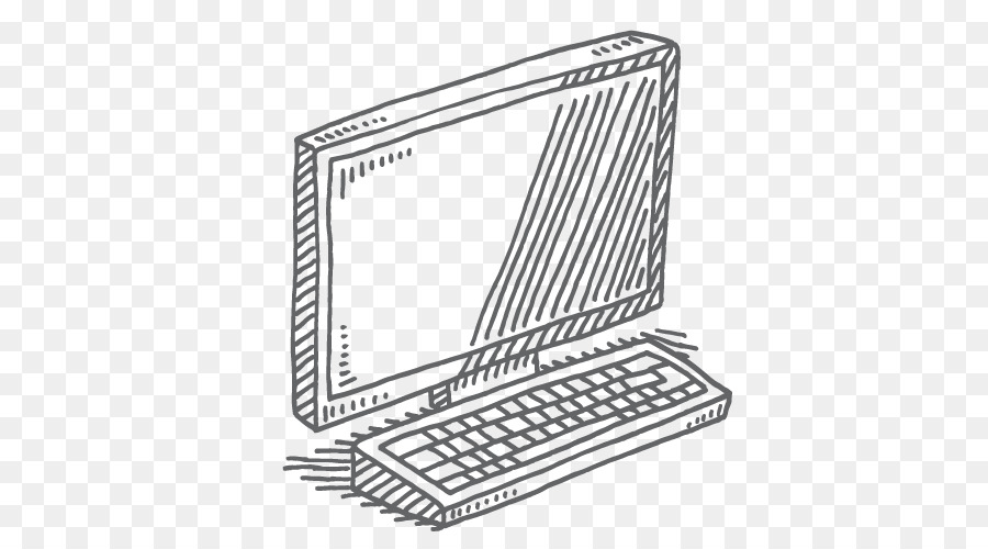 Computer Keyboard Computer Mouse Drawing Vector Graphics Computer