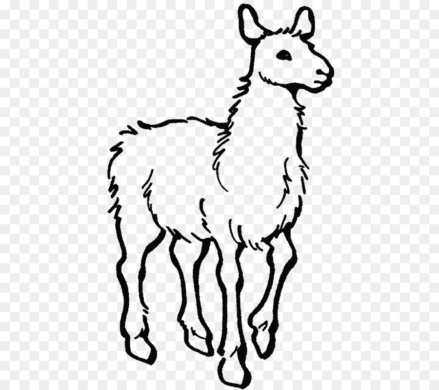 Alpaca Llama Llama a casa con Mama libro para colorear, páginas para ...